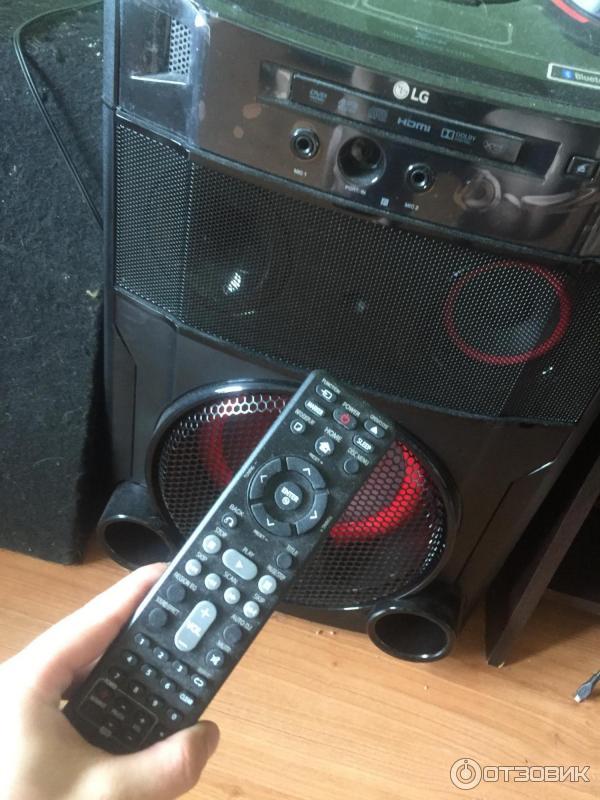 Музыкальная система Midi LG OM7550K фото