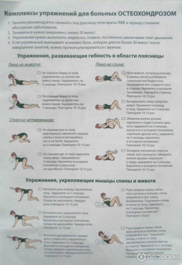 Упражнения для развития мышц позвоночника