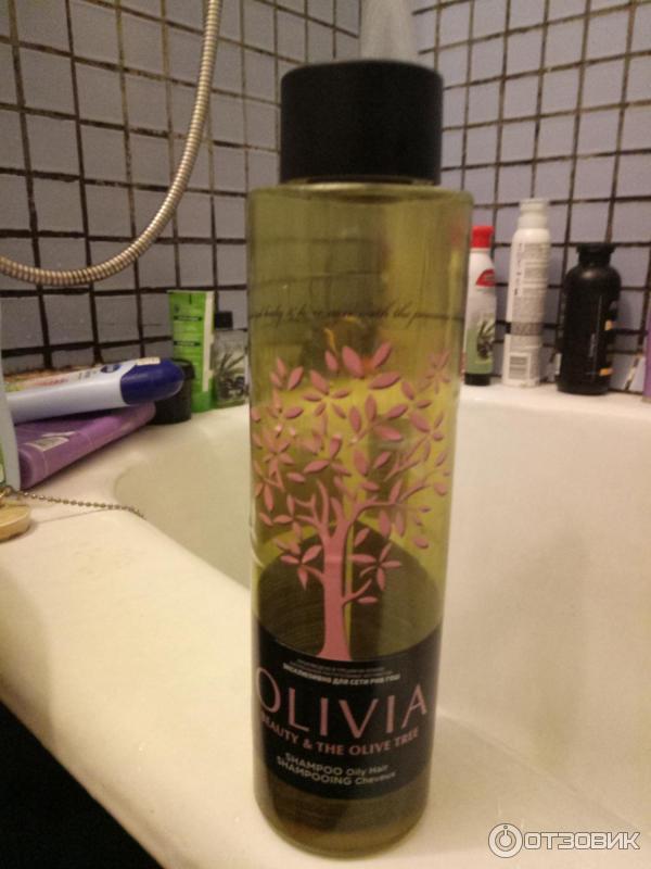 Olivia шампунь для склонных к жирности волос