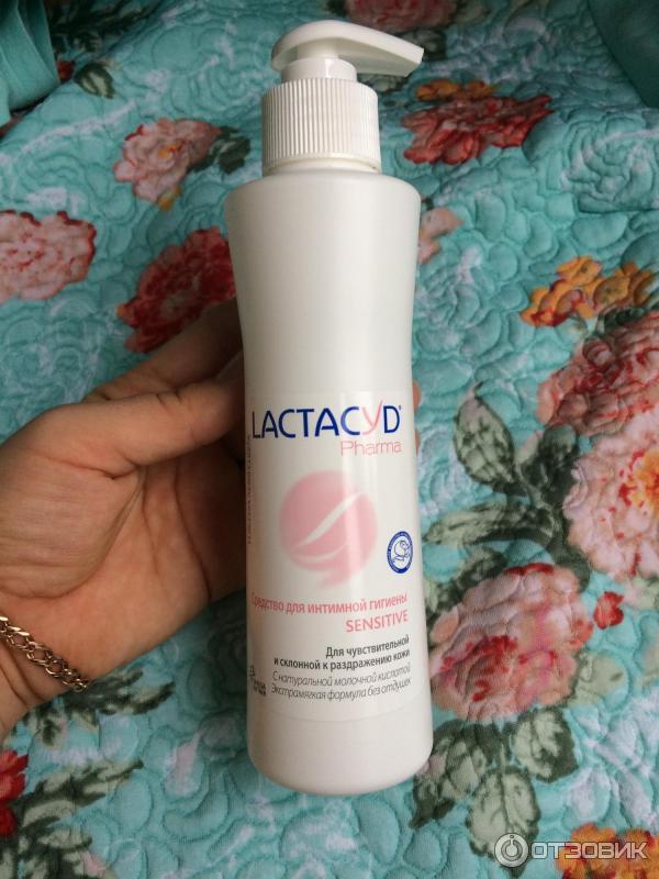 Антибактериальный гелиь для интимной гигиены лактацид