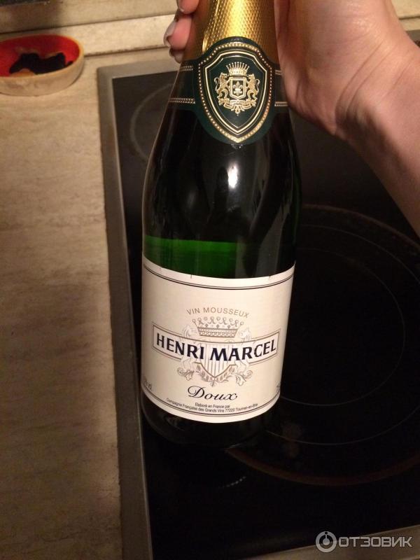 Анри марсель вино игристое белое полусладкое цена