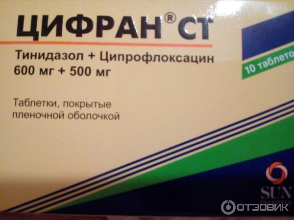 Отзыв о Препарат Ranbaxy Цифран СТ быстро помогает