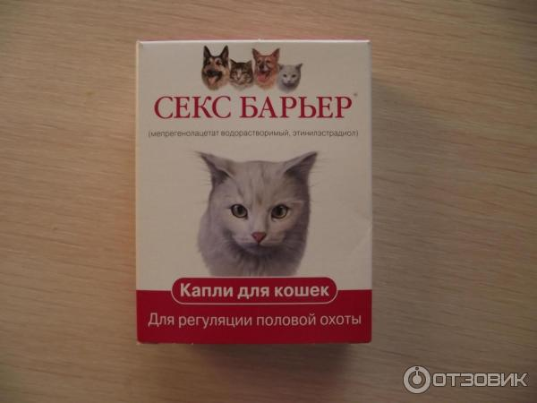 как капать капли сэкс барьер кошкам
