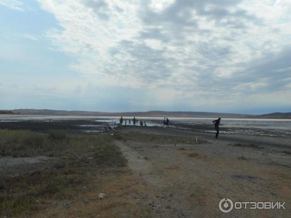 Грязевое озеро Чокрак (Крым) фото