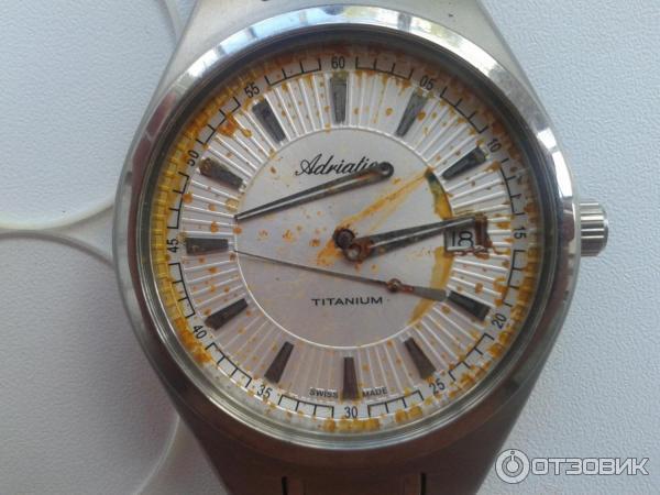 Часы adriatica титан