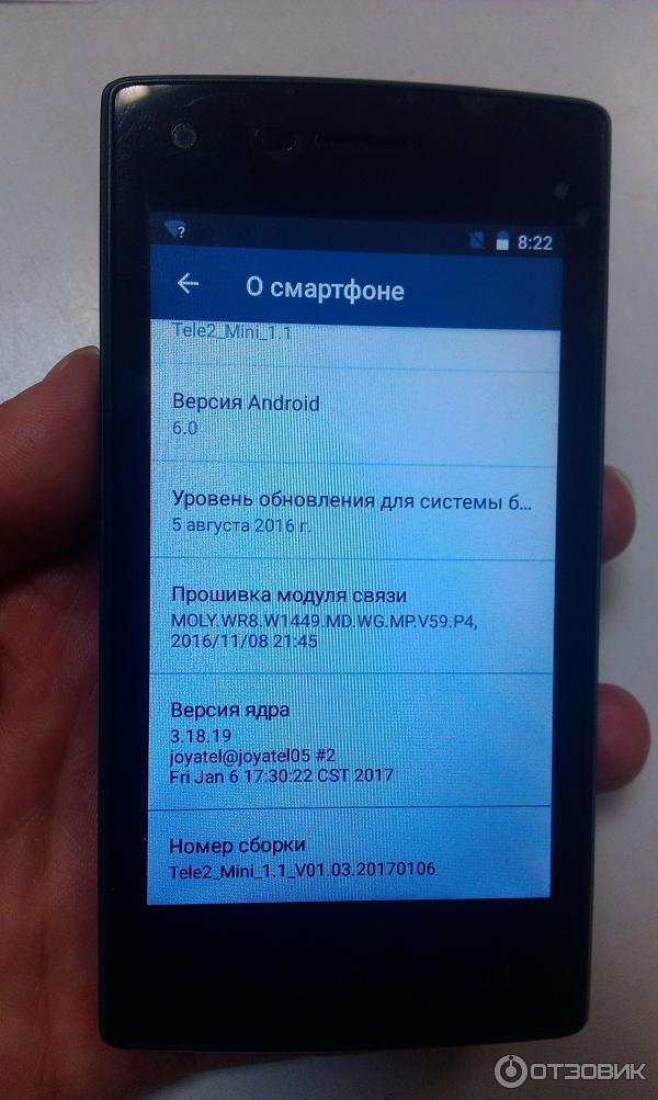 Теле2 мини смартфон синий кружок в правом углу думал