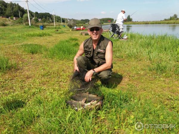 рыбалка на озере городно
