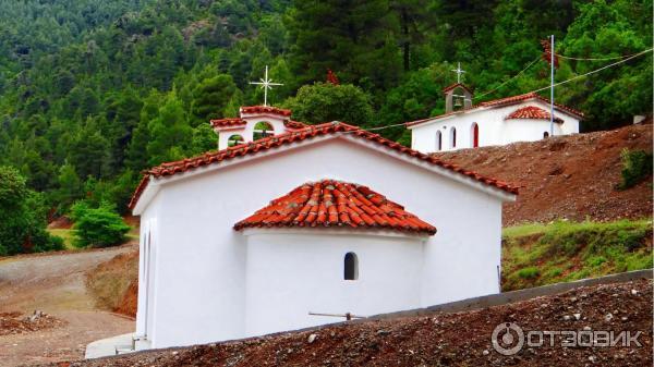 Монастырь преподобного Давида Эвбейского (Греция, о. Эвбея) фото