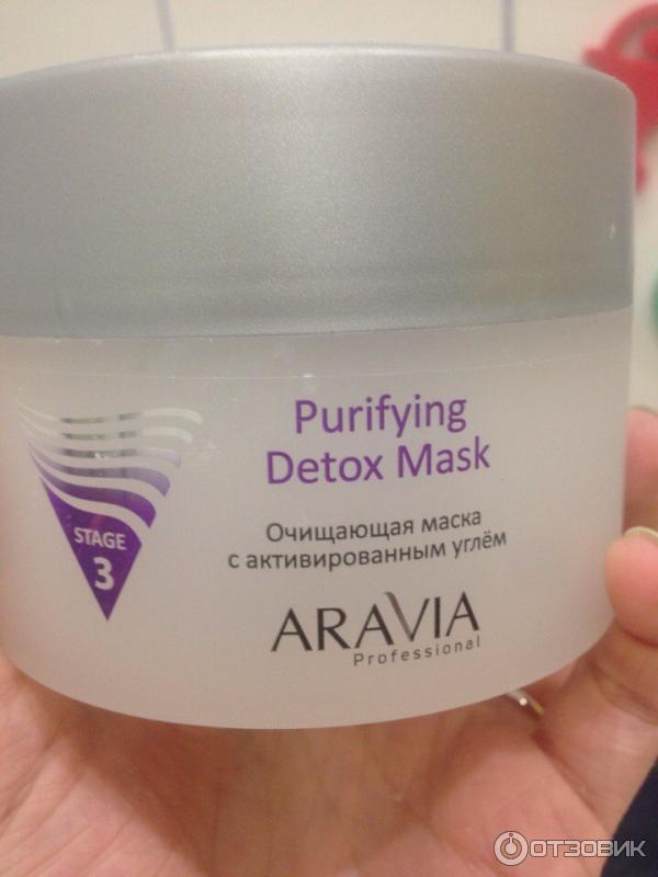 Очищающая маска с активированным углем aravia отзывы