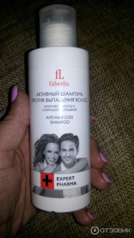 Шампунь против выпадения волос фаберлик