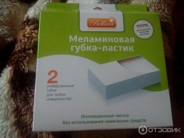 Меламиновая губка для мебели