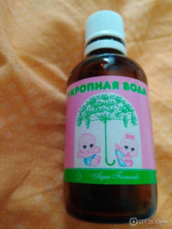 Укропная водичка для новорожденных в домашних условиях рецепт 20