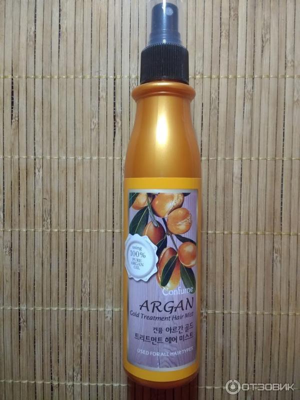 Спрей для волос с аргановым маслом своими руками