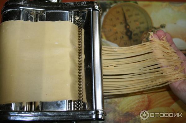Лапша домашняя рецепт теста в лапшерезке
