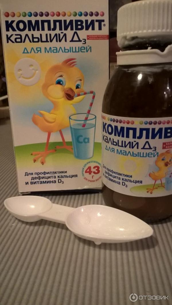 Режим дозирования и способ применения препарата компливит кальция д3 для малышей.