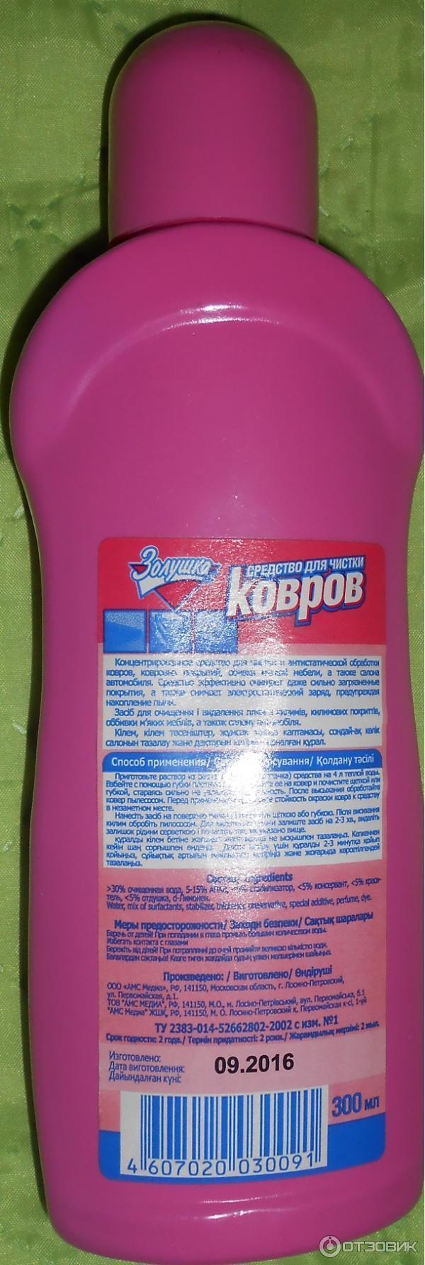 Средства для химчистки в домашних условиях 364