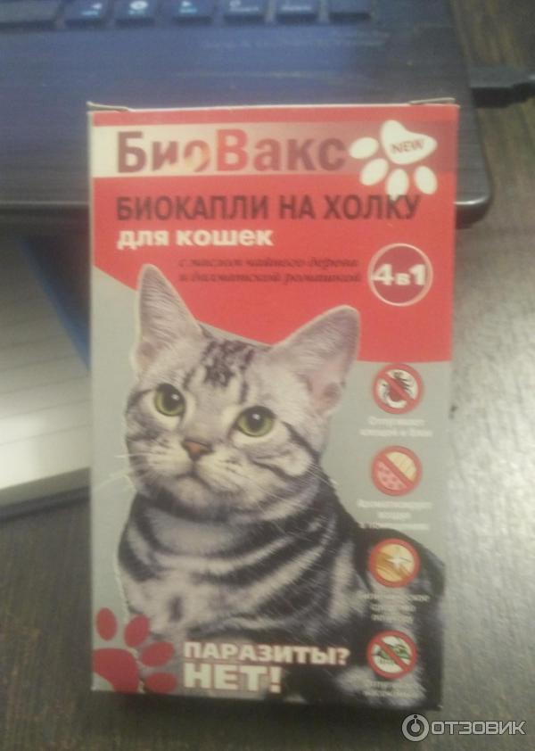 Биовакс капли для беременных кошек 93