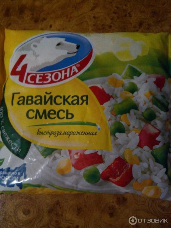 Замороженная овощная смесь своими руками 101