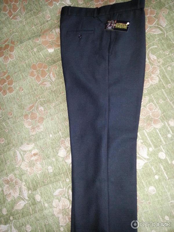 Как разгладить складку на брюках