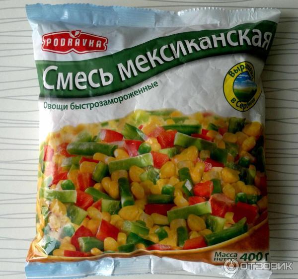 Замороженная овощная смесь своими руками 15