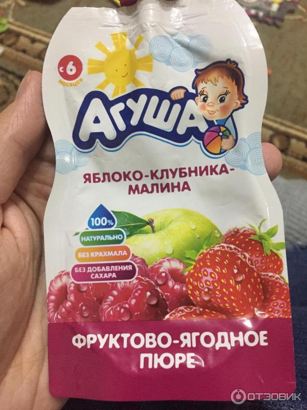 Как сделать фруктовое пюре агуша