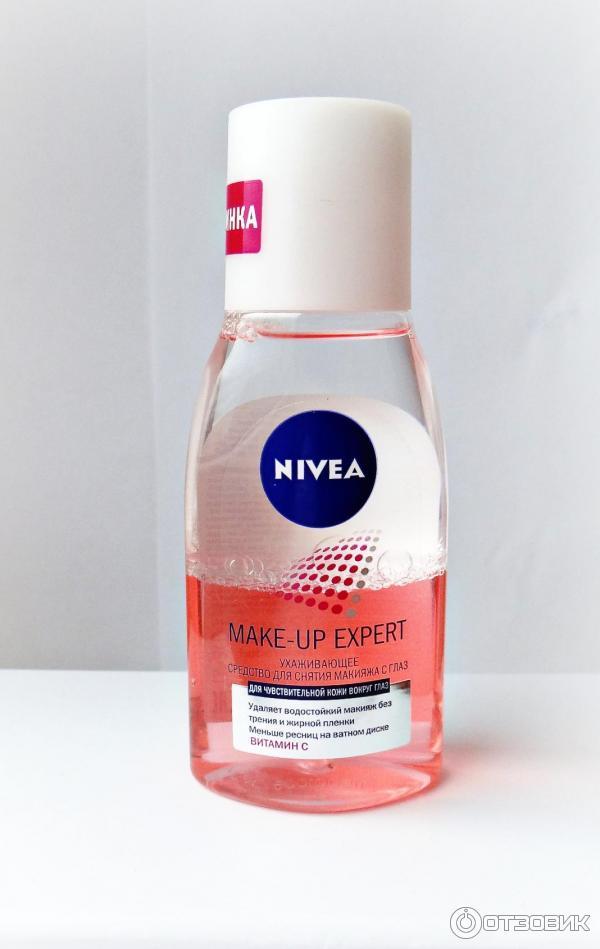 Двухфазная жидкость для снятия макияжа с глаз нивея отзывы