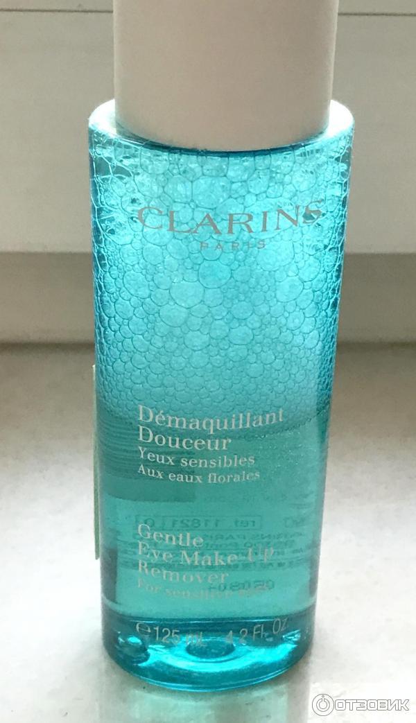 Clarins лосьон для снятия макияжа с глаз