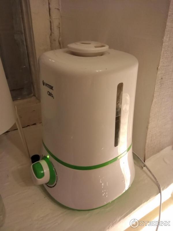 Фото как пользоваться увлажнителем воздуха vitek