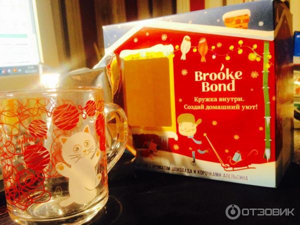 Чай brooke bond кружка в подарок 97