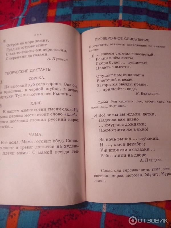 Отзыв о Книга Диктанты и творческие работы ЛюдмилаТикунова  Хочу отметить что тексты небольшие но интересные и разнообразные К некоторым работам есть грамматические задания