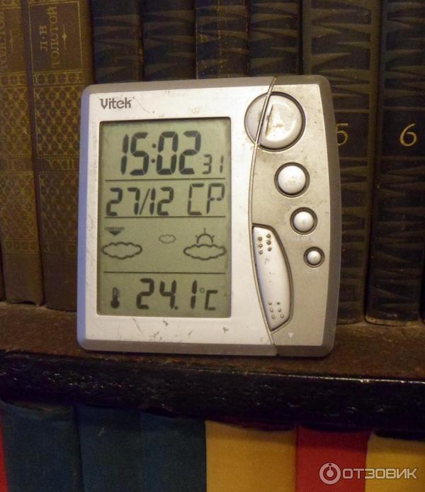 Помимо времени и даты, деня недели они показывают и погоду в доме.