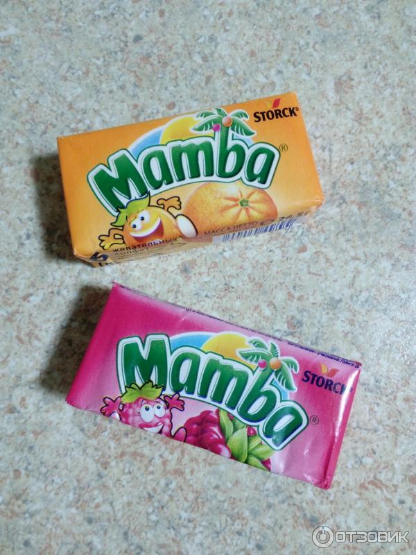 мамба конфетка