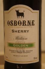 osborne sherry medium golden