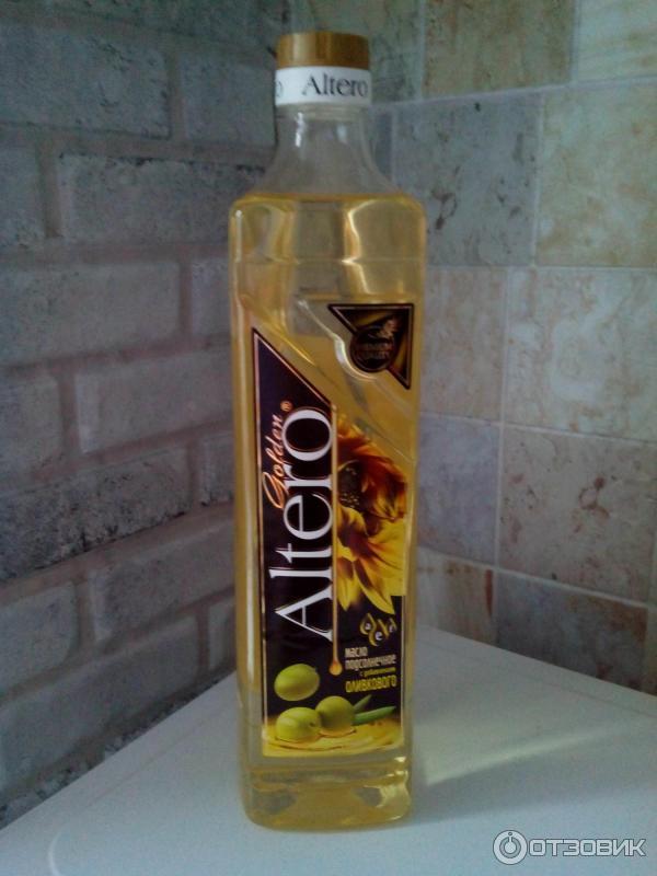 Масло altero с добавлением оливкового