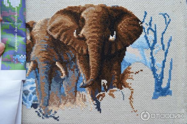 Семь слоников вышивка отзывы 93