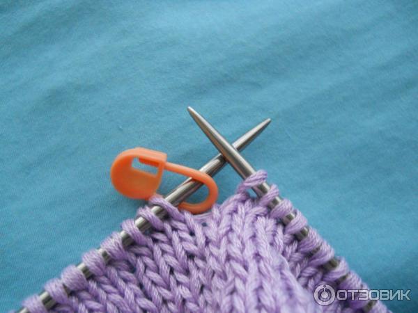 Укороченные спицы для кругового вязания 530