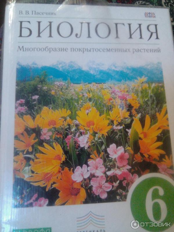 пасечник гдз учебник 6 биология класс