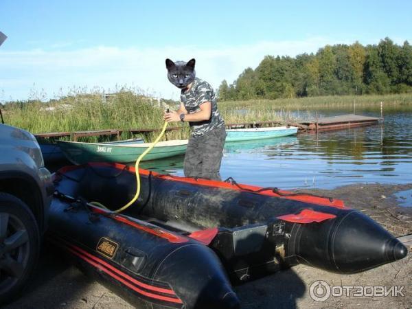 Лодка акила 380