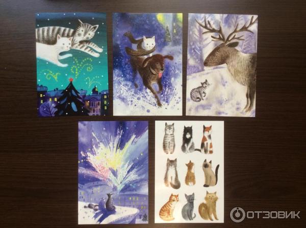 Набор открыток издательства речь, картинки