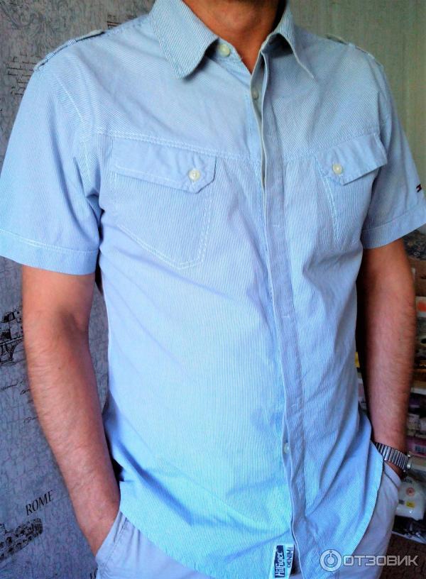 f61162ba9d21 Отзыв о Мужская рубашка Tommy Hilfiger | такая вещь всегда будет в ...