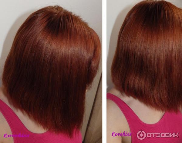фото до и после покраски басмой приятно