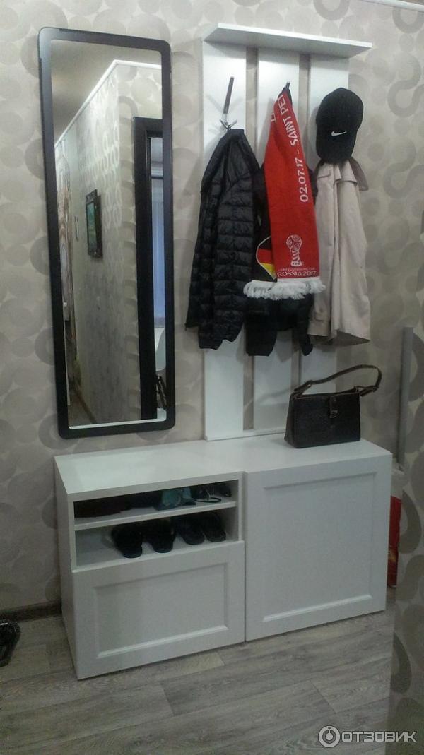 отзыв о мебель для гостиной Ikea бесто отличная прихожая из