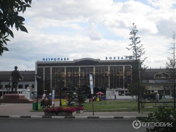 фото вокзала сверху петропавловск казахстан