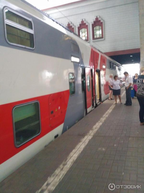 фото двухэтажного поезда самара москва материал