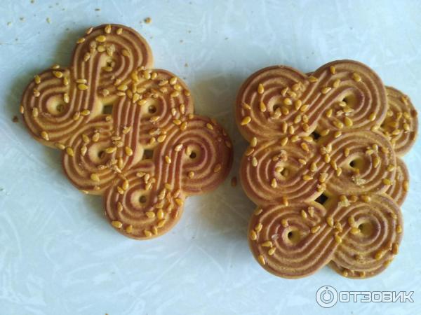 Сколько калорий в печенье из кунжута