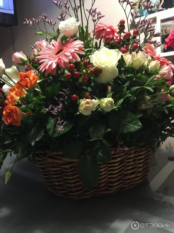Отзывы служба доставки цветов, роз фото