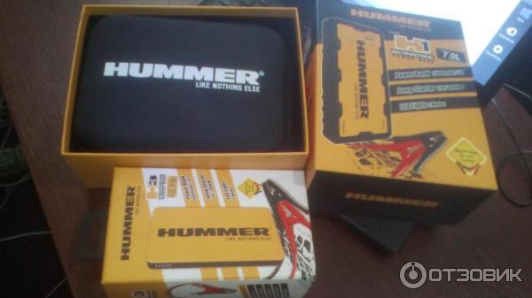 Автомобильное пусковое устройство Hummer H1 фото