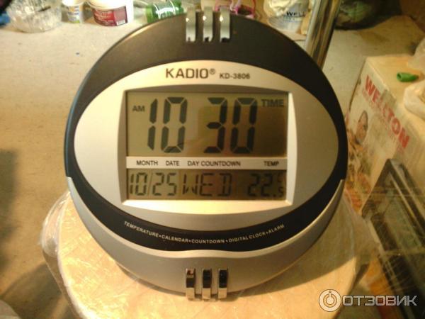 kadio kd-3805 как настроить время