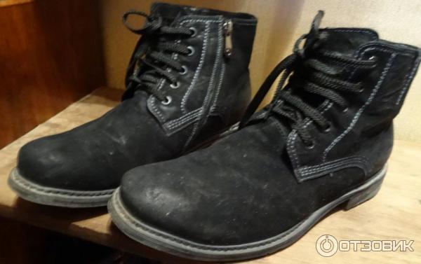 6b49f475a Отзыв о Мужская обувь Carnaby | Нормальные ботинки. Но требуют ...