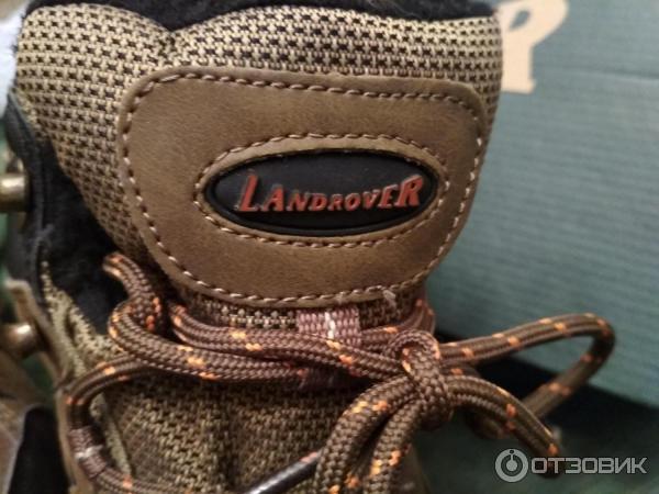 Мужские зимние ботинки Land Rover DELtex фото d40d05439ad4d